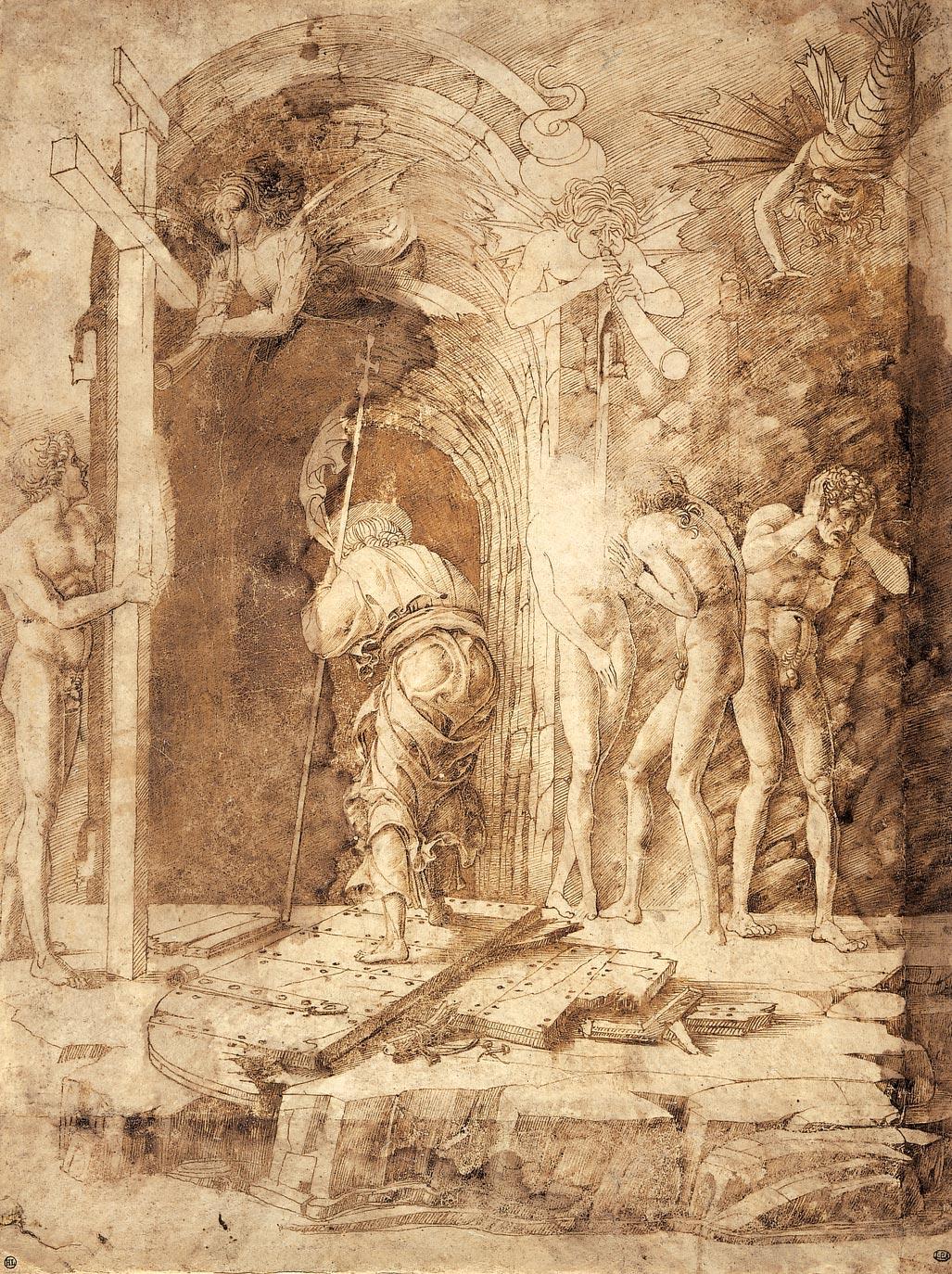6a or 5a? mantegna christ in limbo.jpg